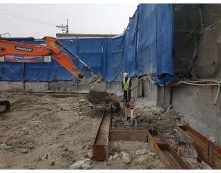 캡빔 철근배근 및 콘크리트 타설 2019.05.17