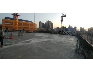2019.11.22 지상 3층 바닥 콘크리트 타설 완료